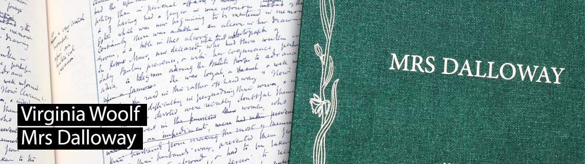 Mrs Dalloway, Das Manuskript von Charlotte Brontë