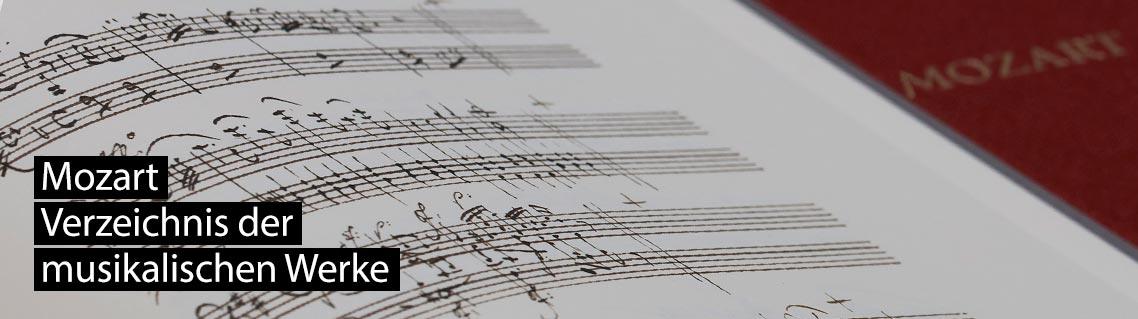 Verzeichnis der Musikalischen Werke, Das Manuskript von Wolfgang Amadeus Mozart